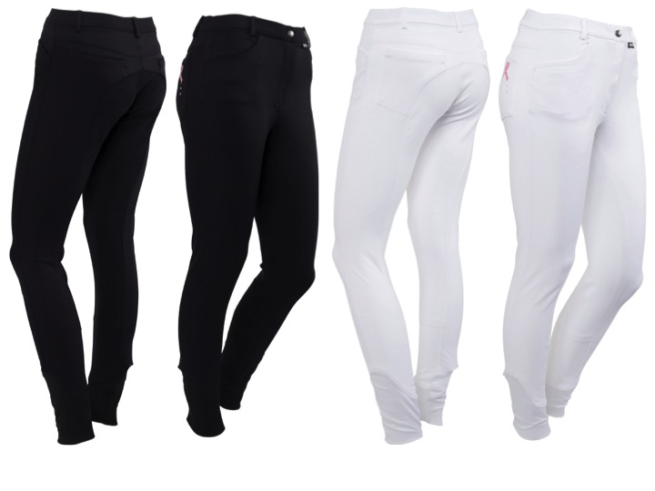 Catago Pink Ribbon Full Seat Breeches