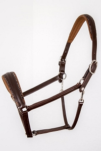 OS Leather Halter - Wide