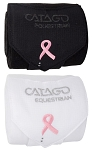 Catago Pink Ribbon Fleece Bandages