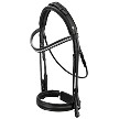 OS Munchen rolled double bridle with 'feel good' option
