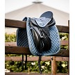Dusty Blue Dressage Saddle Pad from Catago