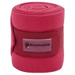 Waldhausen Fleece Bandages, set of 4 - Fuchsia